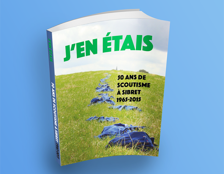 Livre – 50 ans de scoutisme à Sibret
